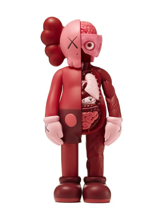 KAWS Blush Flayed Companion, 2017