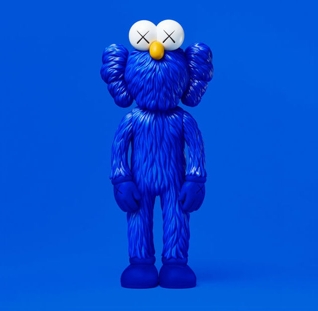 KAWS BFF (Open Edition) BLUE, 2017