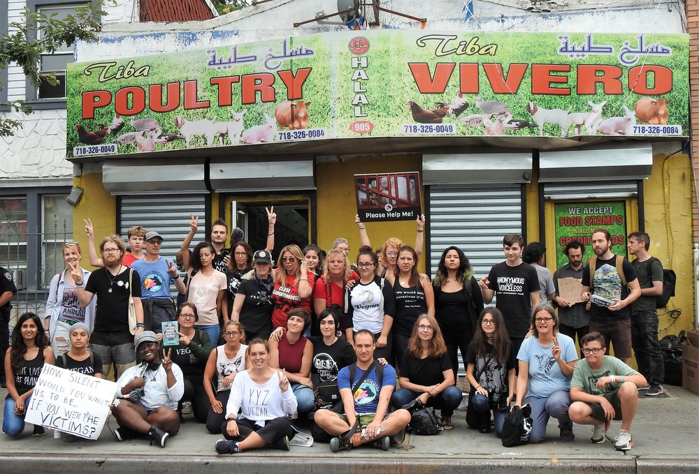 Live Market Vigil in Brooklyn, NY