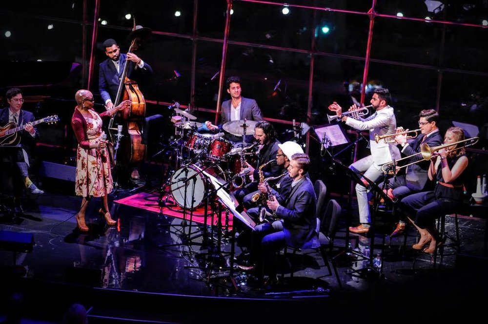 Songs We Love - First presented as the 2016 Season Opener at Jazz at Lincoln Center, Songs We Love is a journey through the first 50 years of jazz song. Under the musical direction of Riley Mulherkar, guest vocalists have included NEA Jazz Master Dee Dee Bridgewater, Brianna Thomas, and Vuyo Sotashe, joining an all-star 10-piece band made up of New York's rising stars. Combining their distinct talents, the group will sing their way through four decades of music, beginning with the early blues and jazz of the 1920s and ending in the early 1950s. Iconic singers to be explored include Ma Rainey, Billie Holiday, Ella Fitzgerald, and Judy Garland.