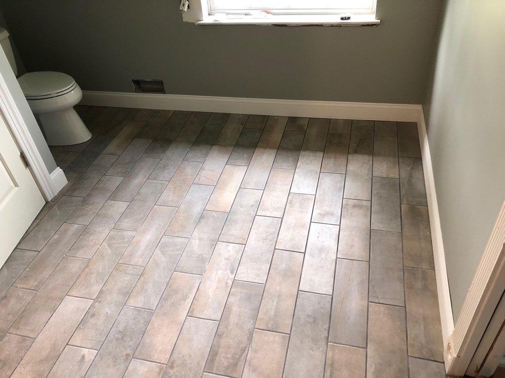 Elmer tile job and bathroom remodel
