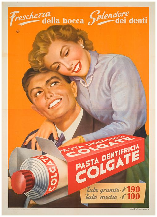 The colgate smile, for those with limited imagination.
