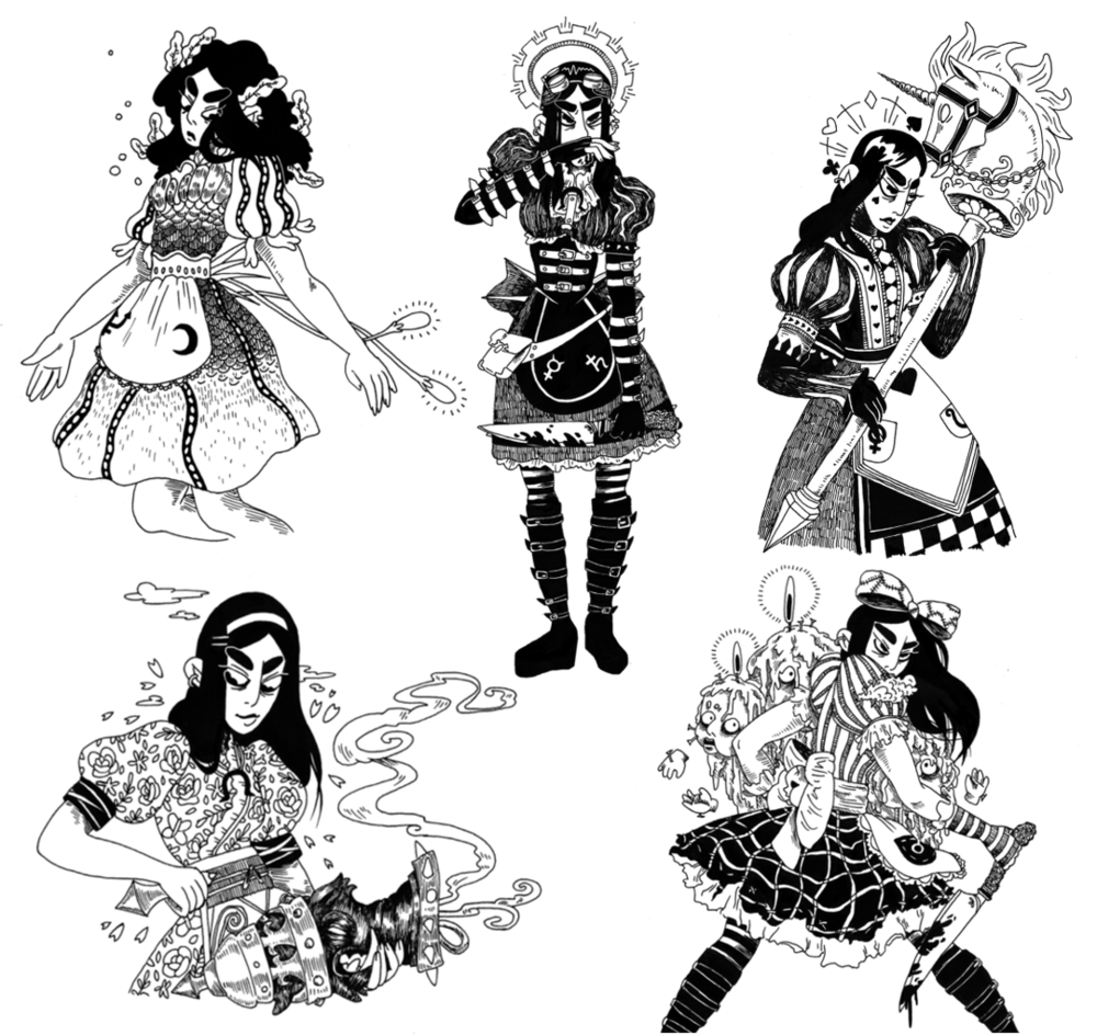 Alice: Madness Returns Character Design Fan Art