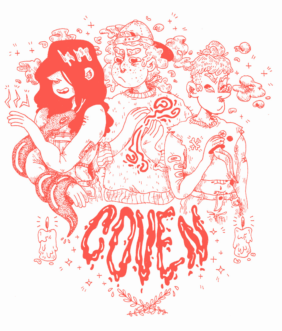 'The COVEN' Comic Series Proposed Cover Page
