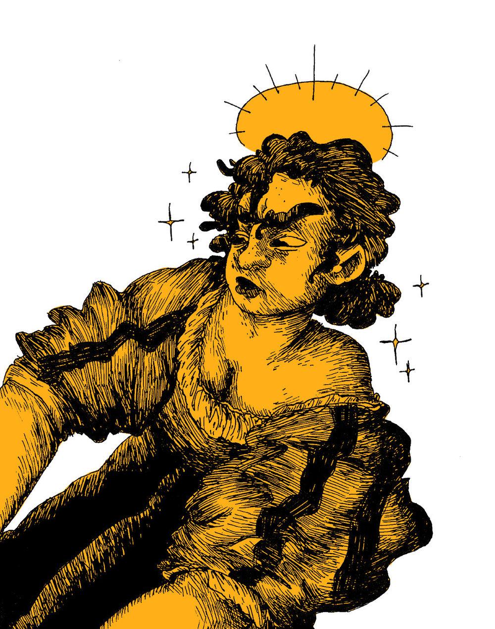 Judith Slaying Holoferne (Artemesia Deserved Justice)