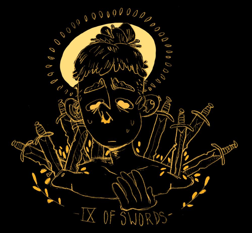 IX of Swords