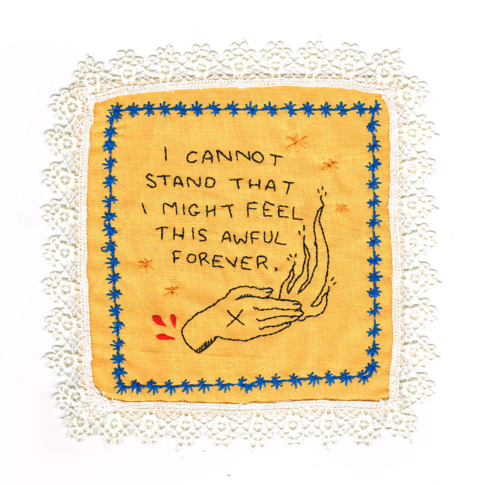Embroidered Confession (#1)