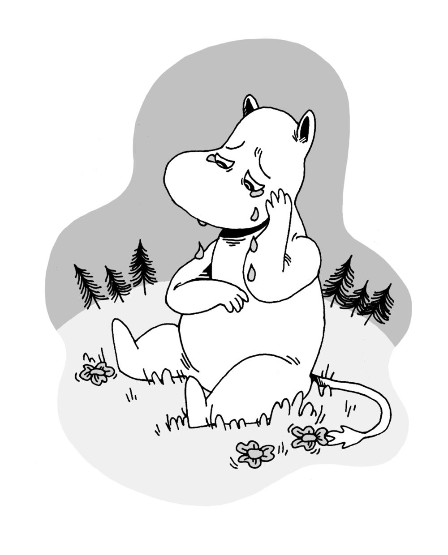 Sad Moomin :(