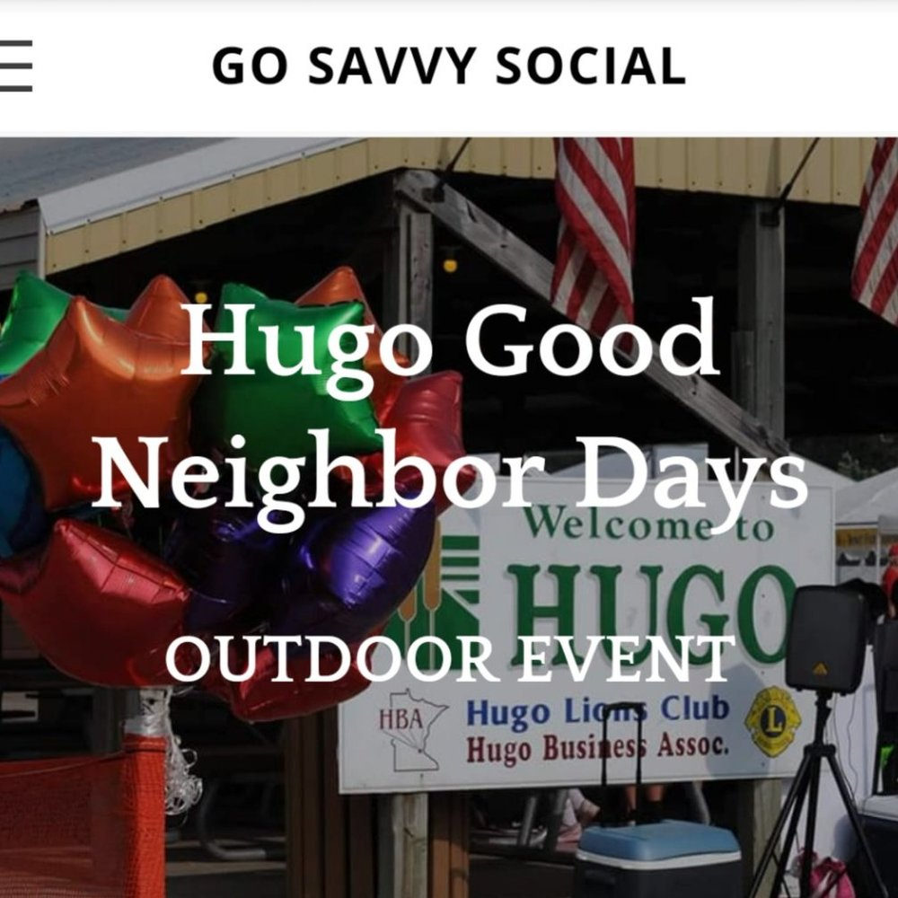 Hugo Good Neighbor Days Craft & Vendor Fair