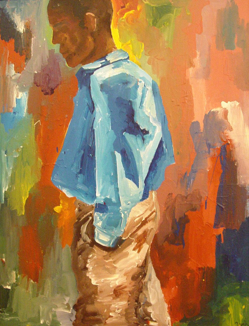 Man Walking - A Self Portrait.