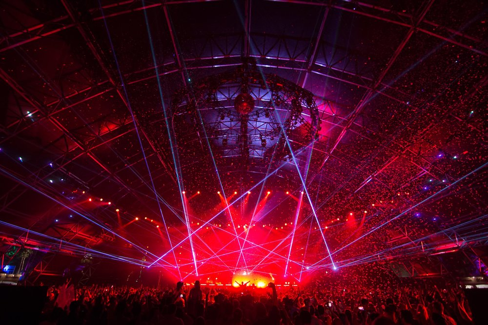 lighting direction / programming    Coachella sahara tent 2015    View Project