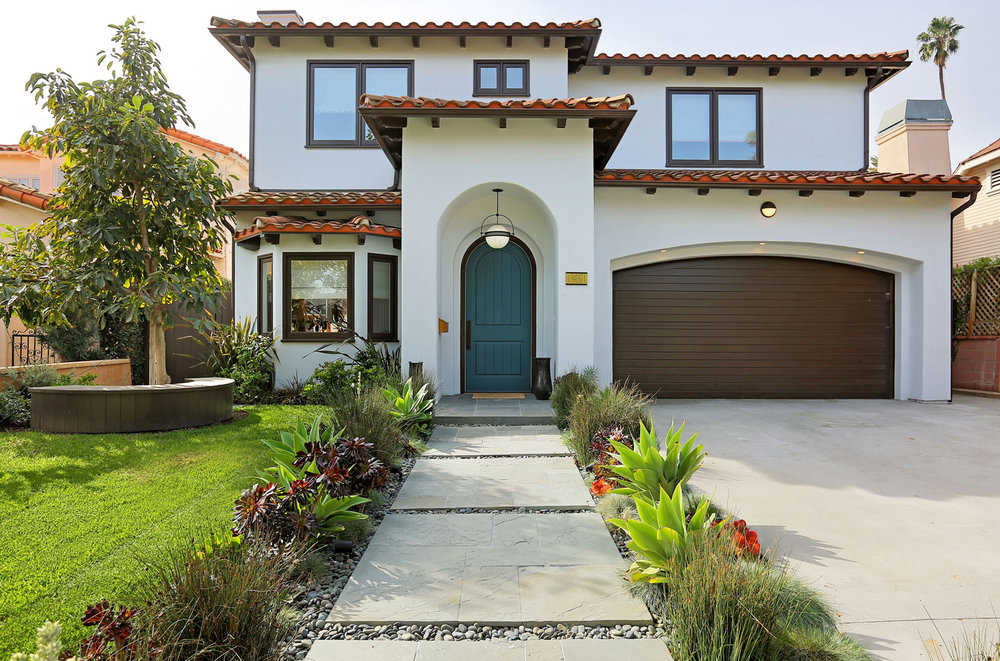 Mediterranean house in Beverly Center/Miracle Mile. Listed for sale at $3,100,000.  (3842 sqft)