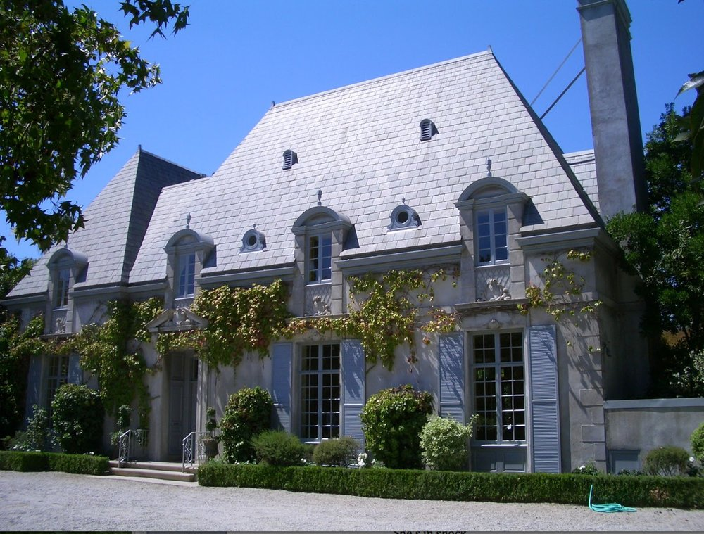 French style house, sold for $7.2M.  (5900 sqft)