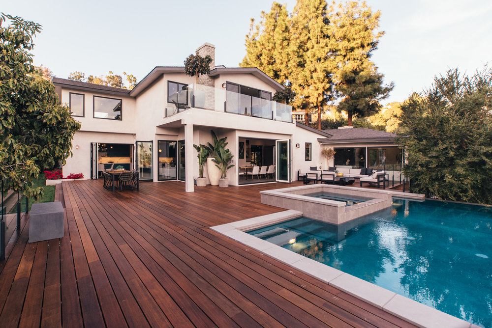 Beautiful contemporary home in Los Feliz, listed for $5,049,000.  (5049 sqft)