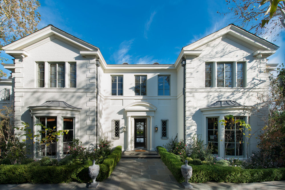 Traditional style house in Pacific Palisades, listed at $38,000,000  (15,642 sqft)