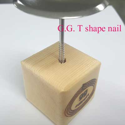 It fits very well with G.G. T shape nail
