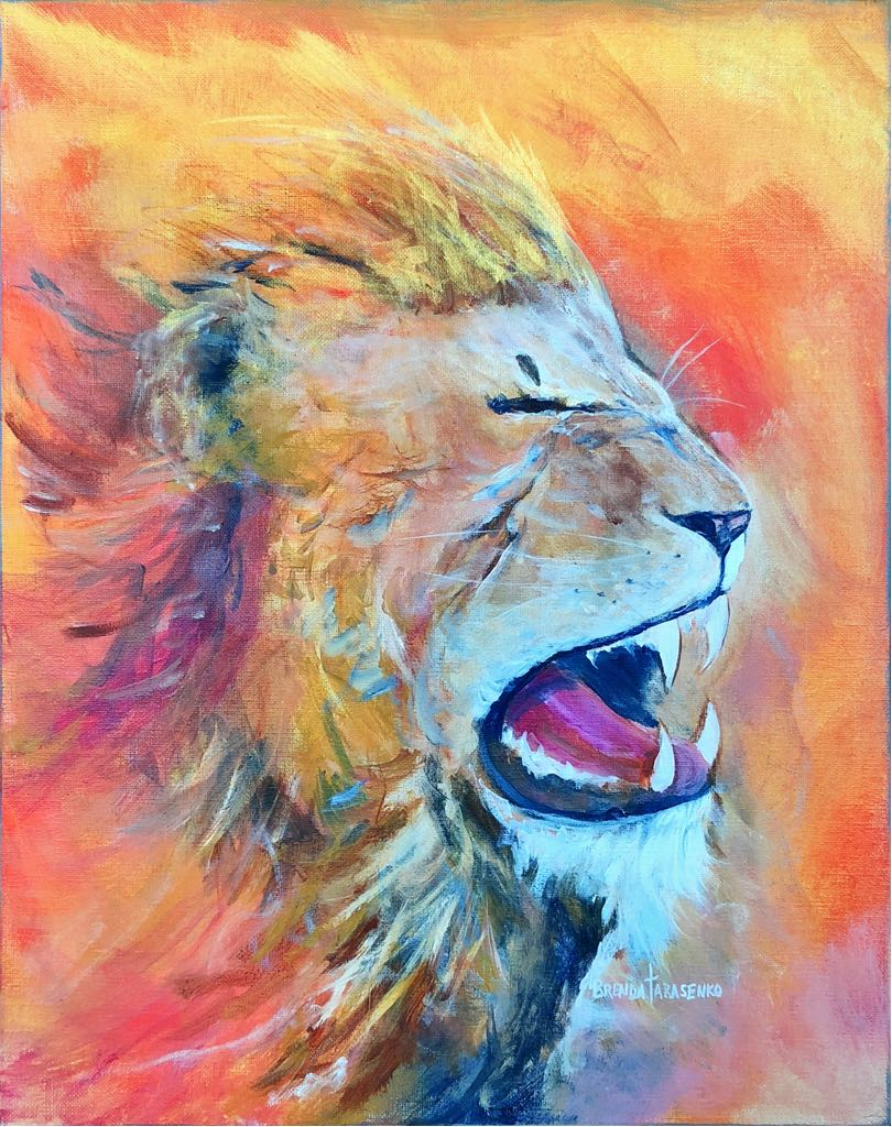 Lion of Judah Roaring!