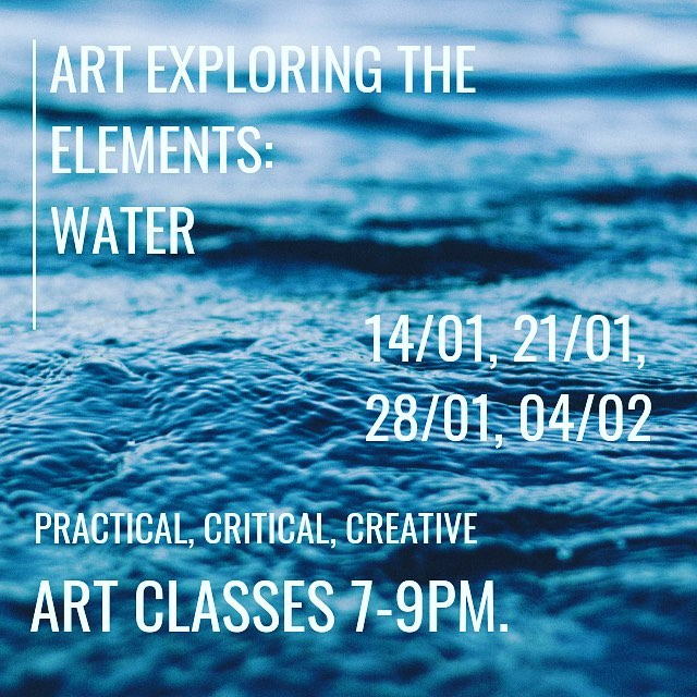 ⭐️NEW FOR 2019 ⭐️A series of 2 hour sessions run by Artist Jen Beetson at The Lifford Hall, Broadway. An investigation into how the four elements have intrigued and inspired Artists throughout history and into the present day. Our first element is water...£10 per session, all ages and abilities welcome.  A mix of art history, practical demonstration and making art using many various wet and dry techniques over the weeks.... And delicious tea and cake!  Jen has been teaching for 12 years. Email colour-in@hotmail.co.uk for details.... 'Fire' starts 11/02 #newfor2019#artworkshops#artclass#artforadults#creative#art#practicalart#practicalartist#broadwayworcestershire#creativecotswolds#cultureinthecotswolds#arthistory#artteacher#broadwayartsfestival#creativeindependence#broadwayartclass#theliffordhall#cheltenhamwomeninbusiness#cheltenham#mybusinessfamily#cheltenhammaman#mumboss#mumbossartist#thecolourclub2018