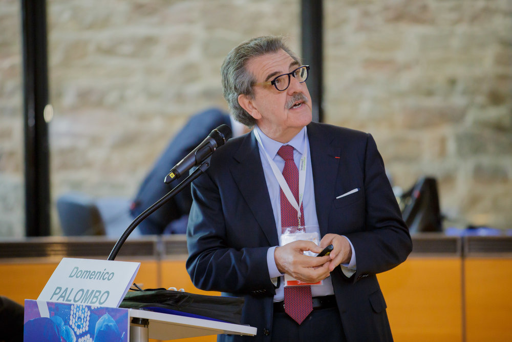 Pr. Domenico Palombo at the 67th International Congress of the European Society of Cardiovascular and EndoVascular Surgery