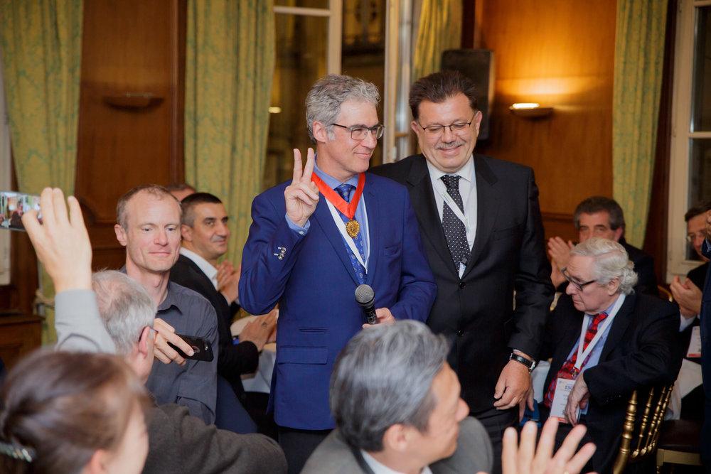 Profesor Thierry Folliguet, President of the ESCVS (2018)