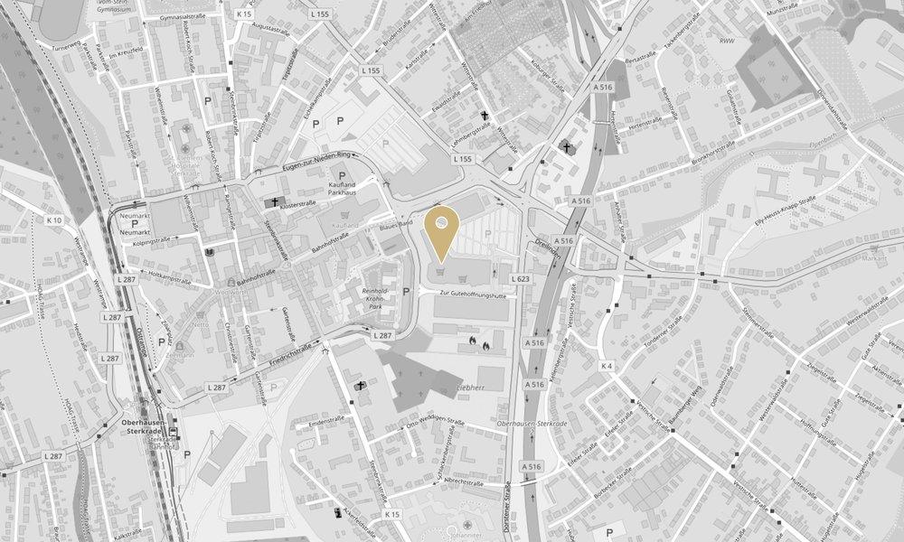 Mit einem Klick auf die Karte verlassen Sie die Website von Zurheide Feine Kost und gelangen zum externen Routenplaner von Google Maps, maps.google.de. Wir geben keine personenbezogenen Daten weiter, jedoch können auf der Zielseite entsprechend Daten von Google verarbeitet werden. | (Kartendaten von OpenStreetMap - Veröffentlicht unter ODbL )