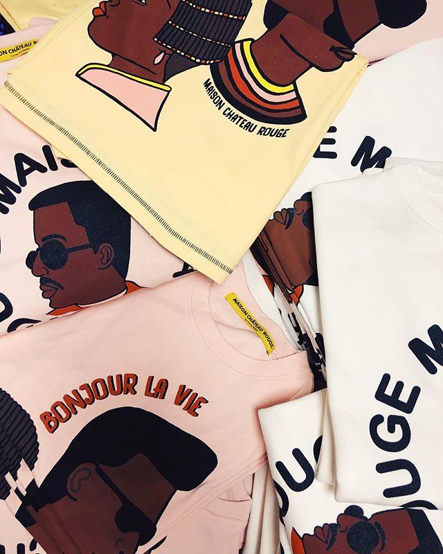 💈BONJOUR LA VIE BARBERSHOP💈sweats et t-shirts disponibles en ligne et en boutique 💇🏿♂️