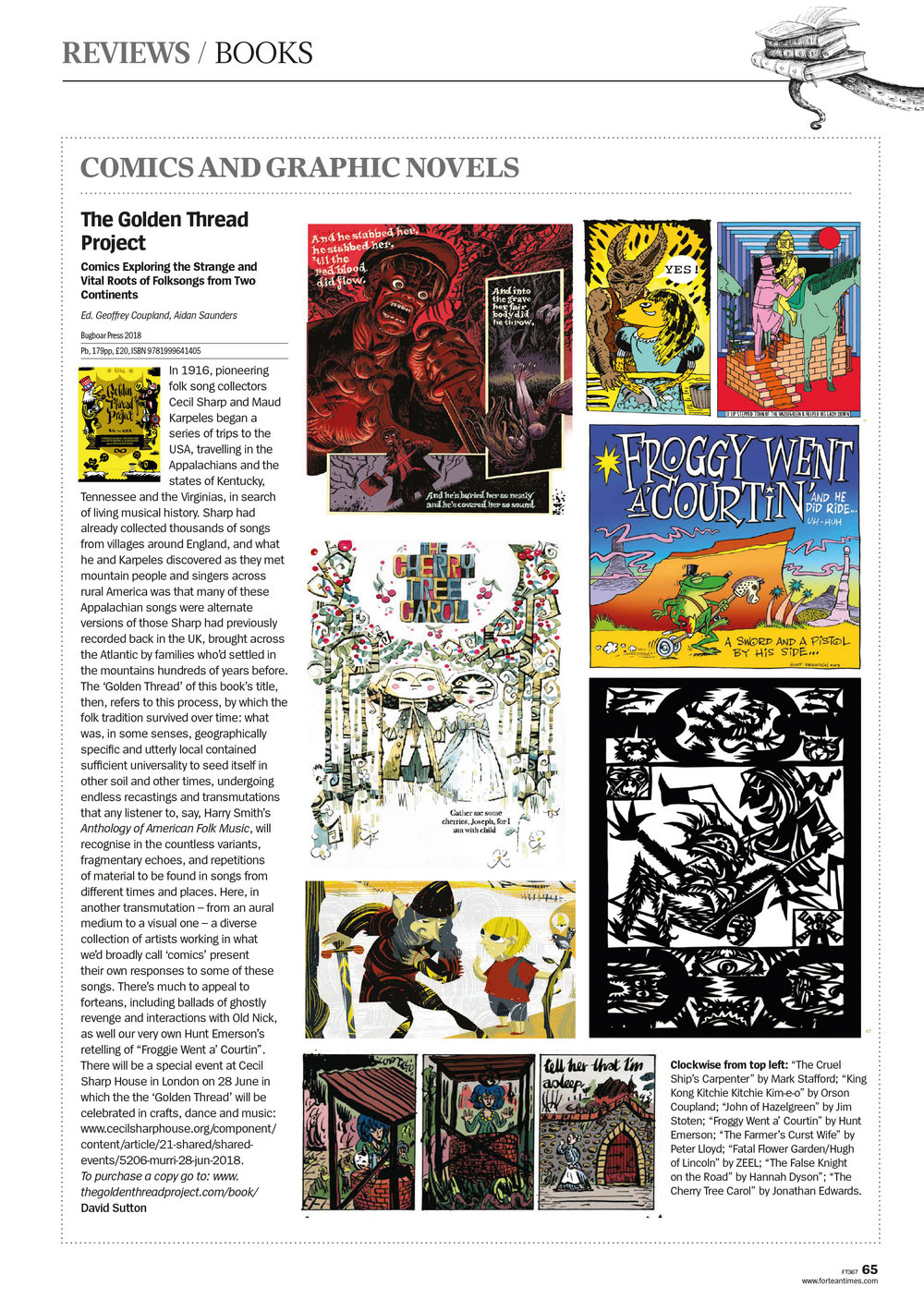 Fortean Times review feature page .