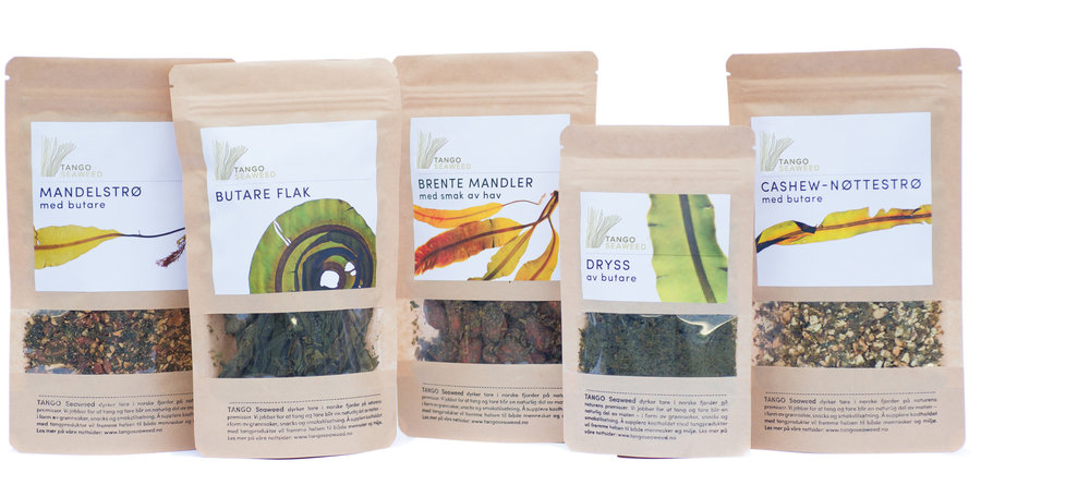 The first seaweed product line