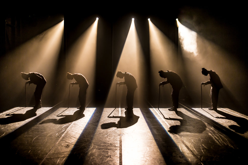Dance Collaboration Between the company Far From The Norm and 4 Korean Dance Artists - Performance