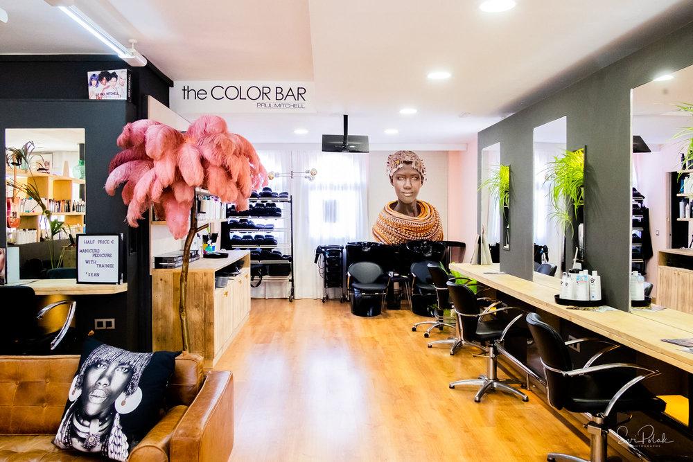 salon - peluqueria, belleza, unas
