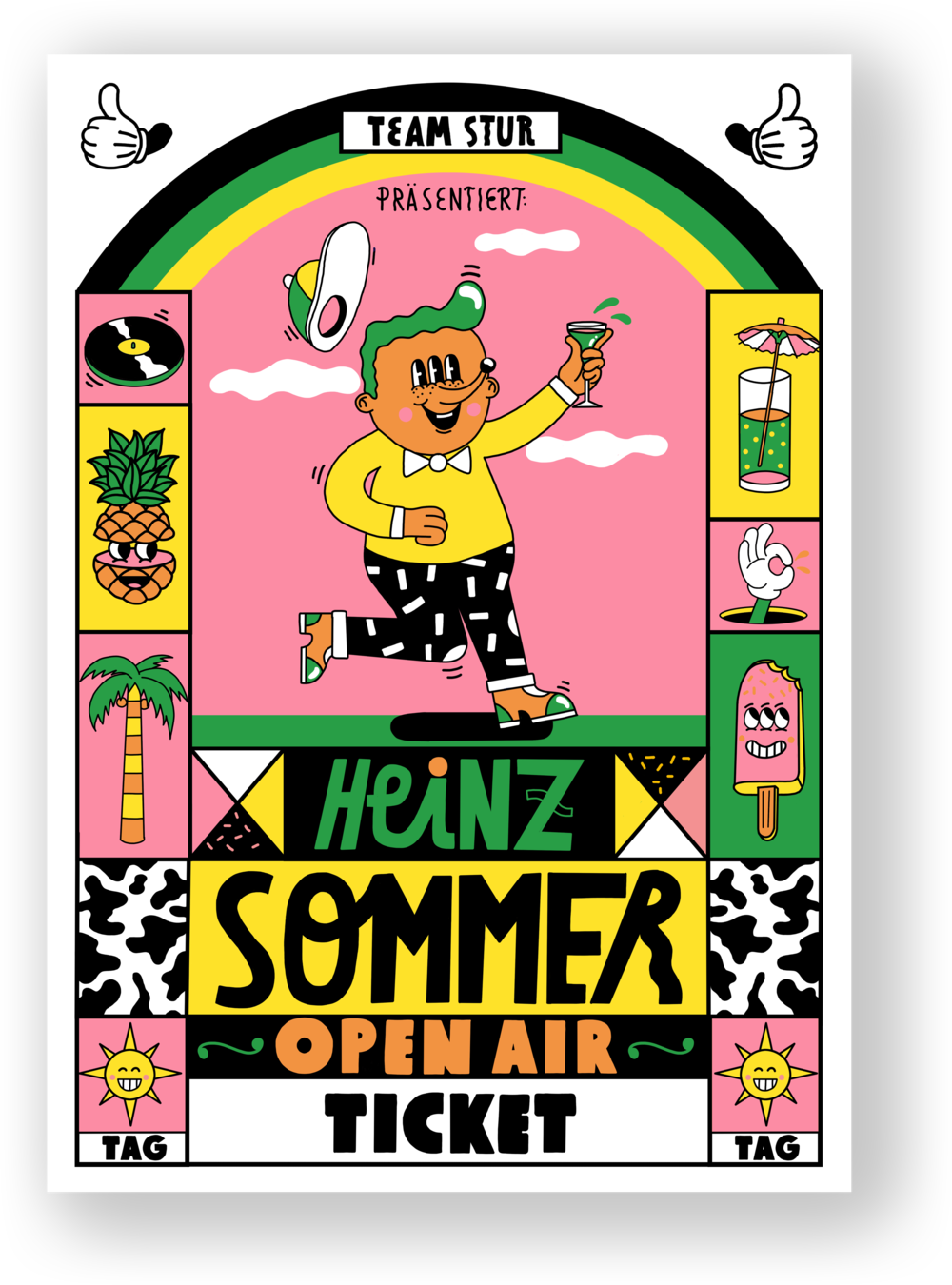 Heinz Sommer Open Air Tagesticket