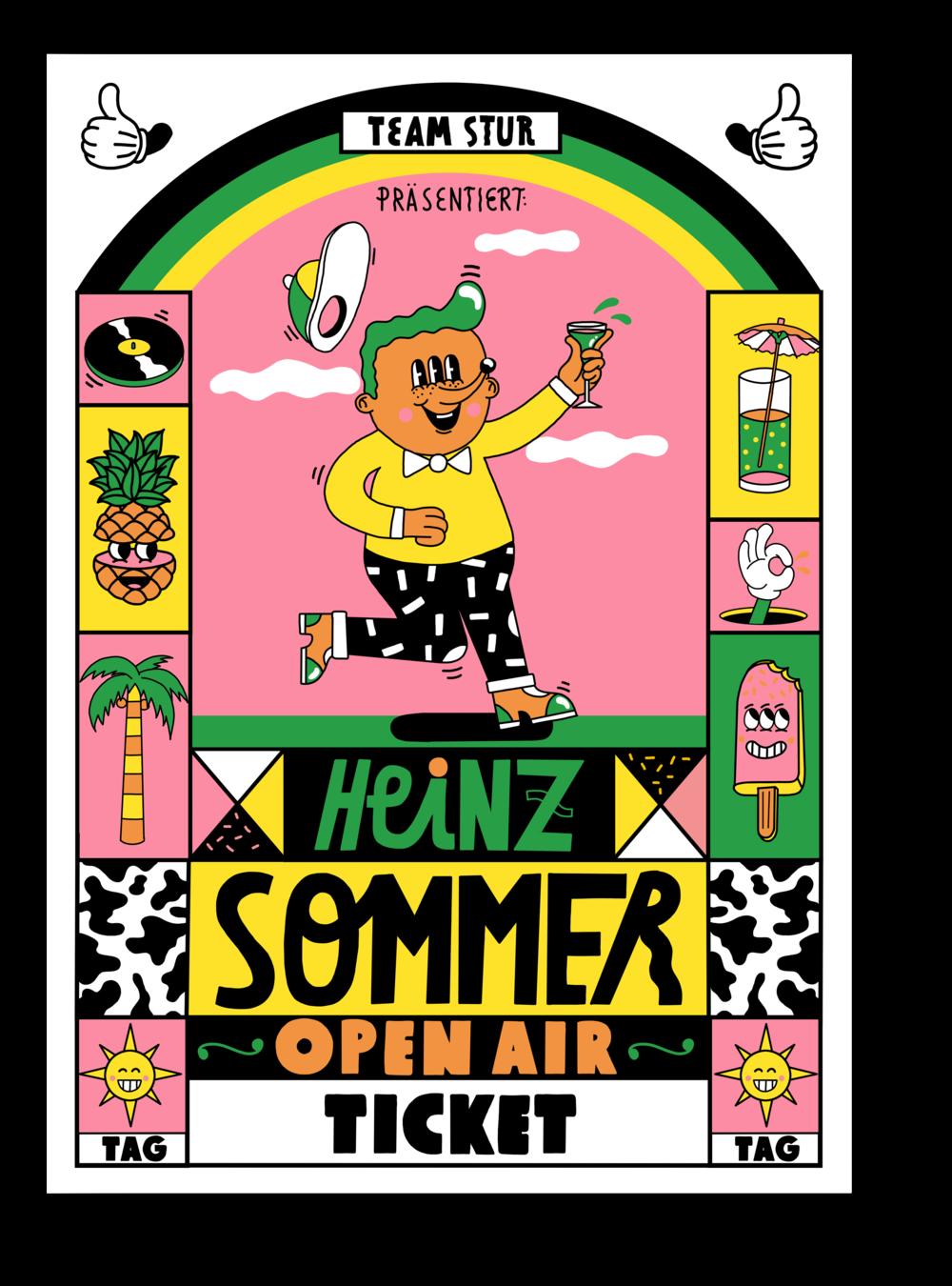 Heinz Sommer Open Air Tagesticket