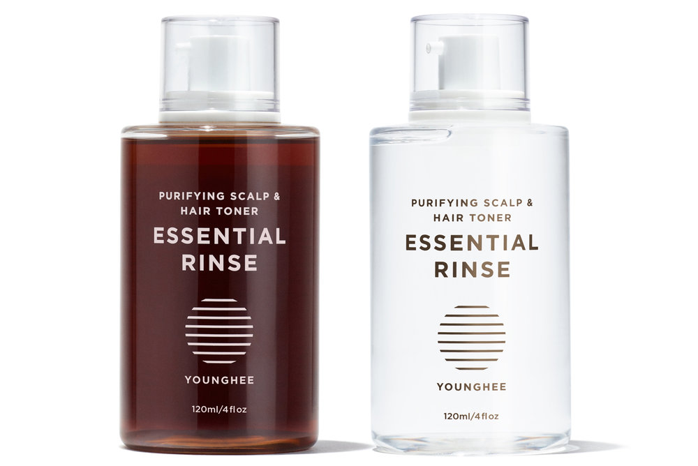 Essential Rinse® the natural purifying scalp and hair toner