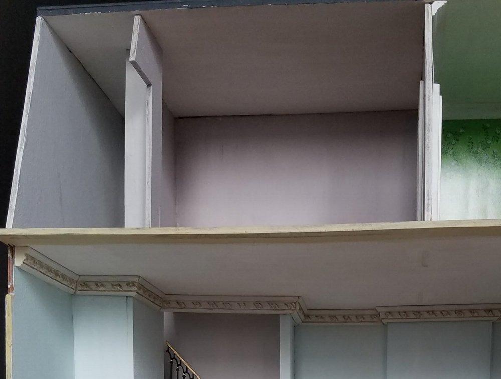 The original top floor layout