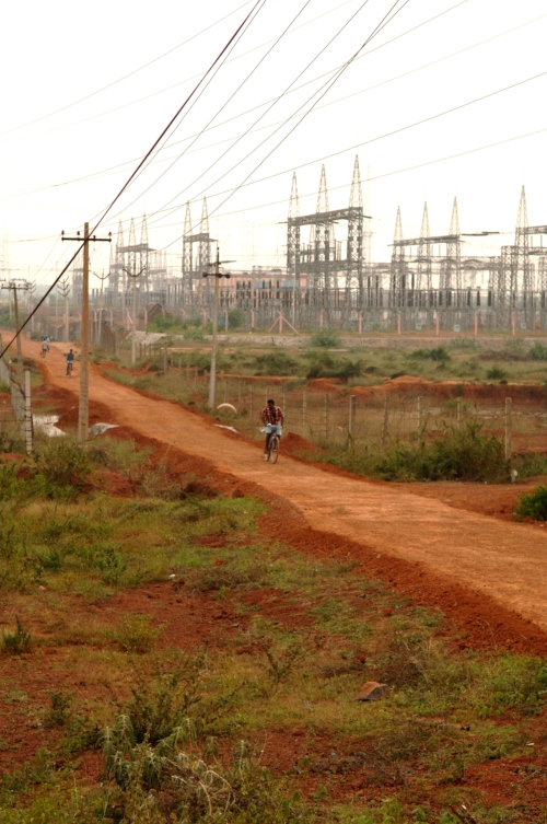 A major electrical hub, 50kms outside Chennai. Power (or lack of) is a major issue in India.