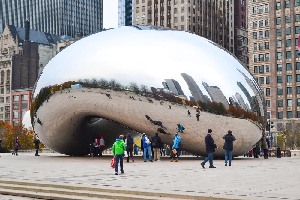 The Bean in Millenium Park, Chicago