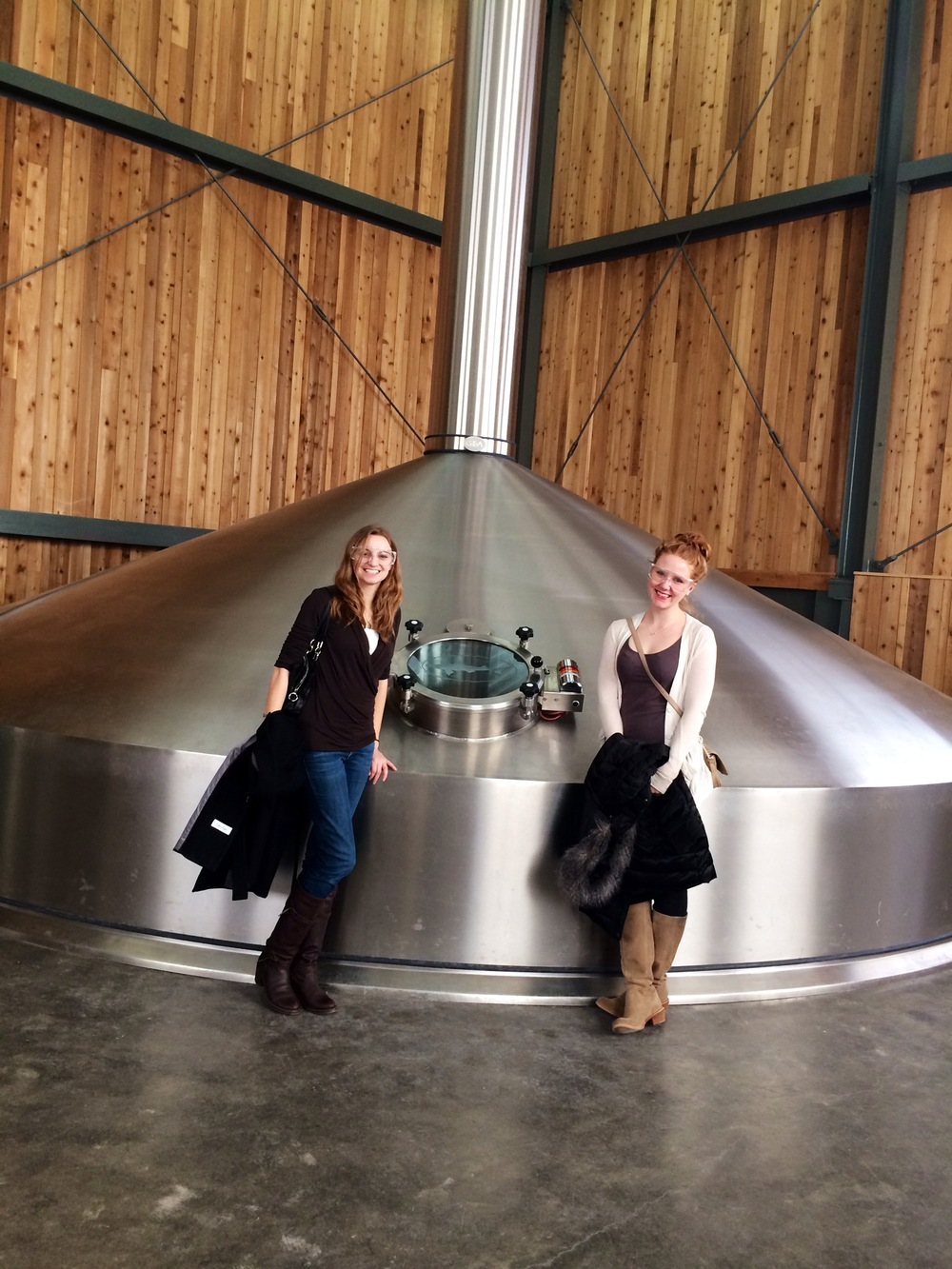 VIP brewery tour