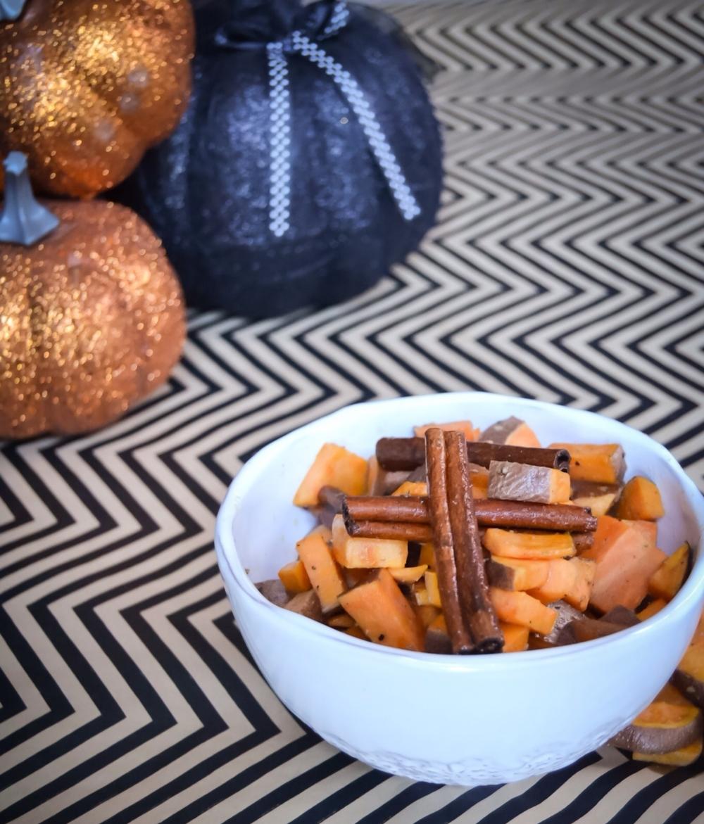 Cinnamon-Sage Sweet Potatoes