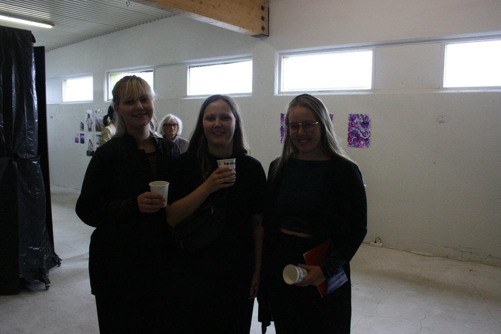 Salóme Sól Norðkvist, Alexandra Rós Norðkvist og Nanna Katrín Hannesdóttir