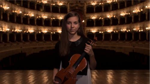 Clarissa Bevilacqua violin