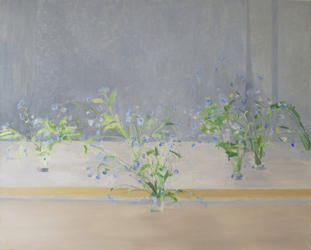 </strong><em>Forget Me Not</em> <br/> 2015 <br/> oil on canvas <br/>86.5 x 106cm<strong>