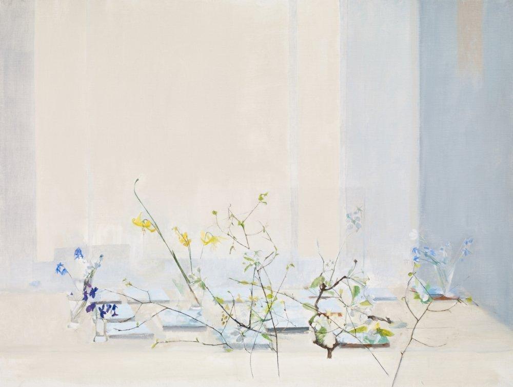 </strong><em>Sky Blue Spring</em> <br/> 2015<br/> oil on canvas<br/> 91.5 x 122cm<strong>