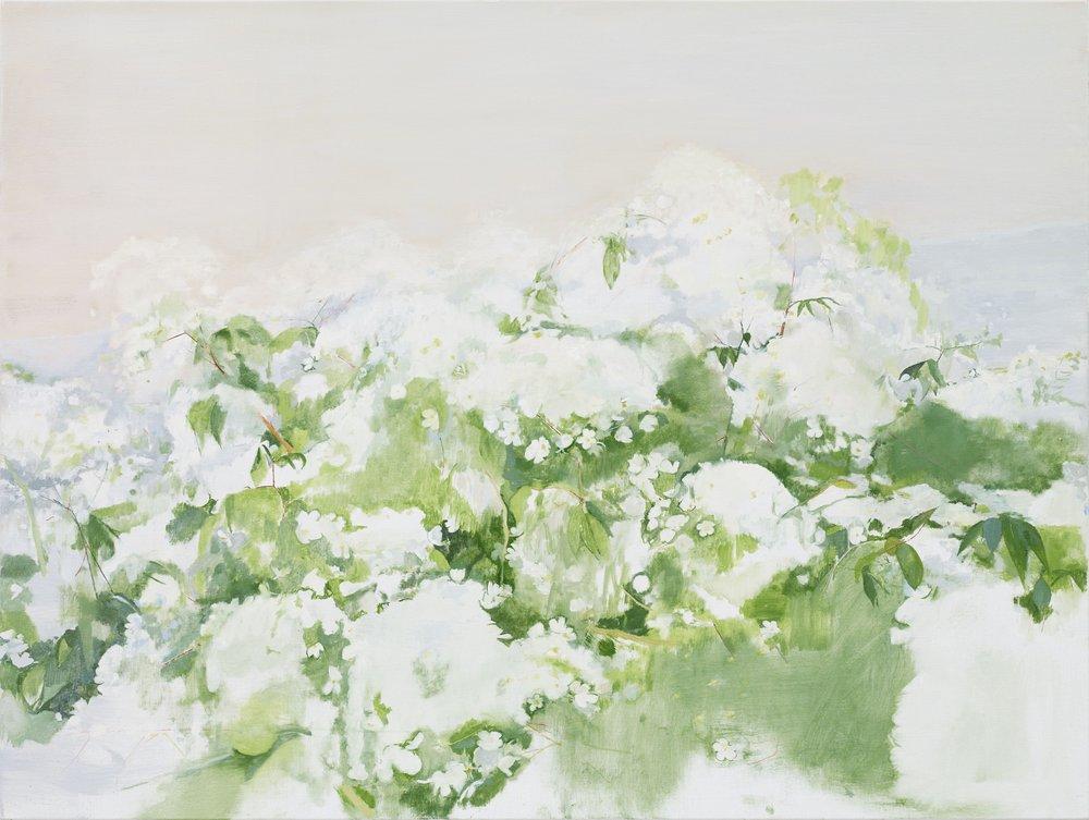Billow, 2018, oil on canvas, 90 x 120 cm