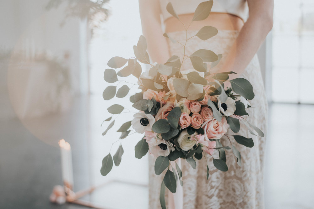 Copper and Blush - By Marni V Photography and Megan Elle Photography