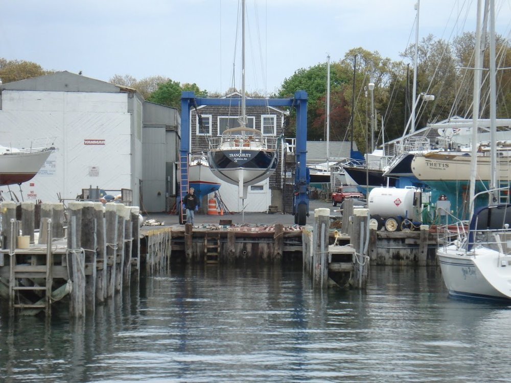 In the Heart of Buzzards Bay   Mattapoisett Boatyard   Since 1962   Make A Reservation