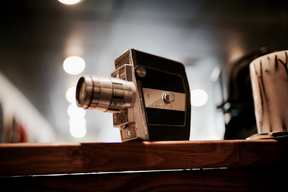 Image: From vintage 8mm cameras to modern day video technology - a lot has changed!