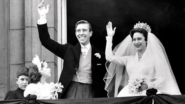 Image: Princess Margaret's Wedding Day 1960.
