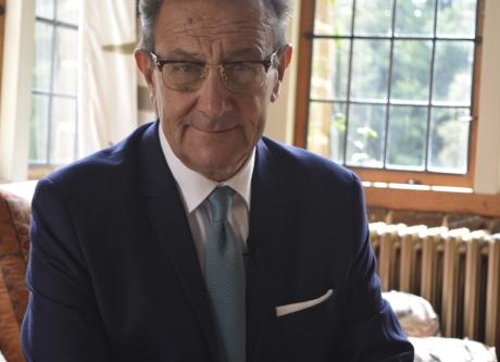 Image: TV Presenter & author Pete Goodrum presenting this latest wedding documentary