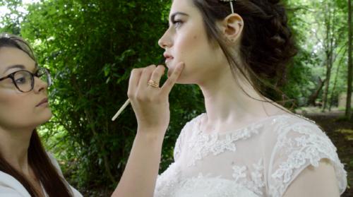 Image: On set with makeup artist Stephanie Alexandra - www.stephaniealexandramua.co.uk and model Ebony Reeder