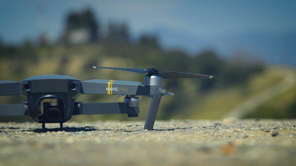 Wedding film with drone